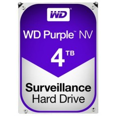 HDD WD Purple NV 4TB, IntelliPower, 64MB cache, SATA III